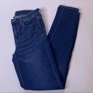 J. Crew Mercantile Skinny Cropped Jeans, 25